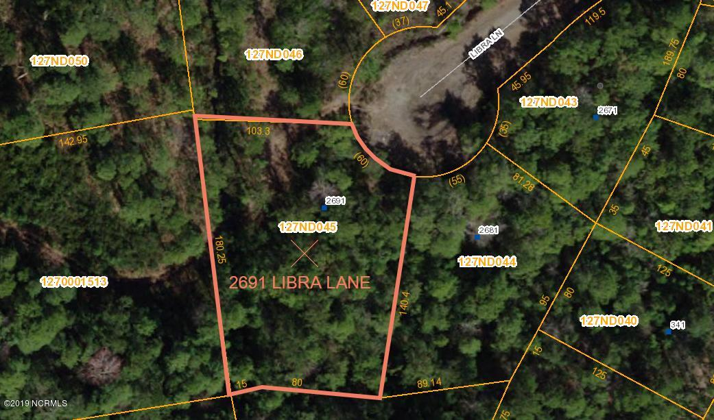 2691 Libra Lane, Boiling Spring Lakes, North Carolina, ,Residential land,For sale,Libra,100155985