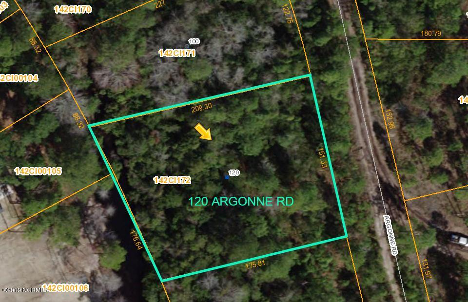 120 Argonne Road, Boiling Spring Lakes, North Carolina 28461, ,Residential land,For sale,Argonne,100183942