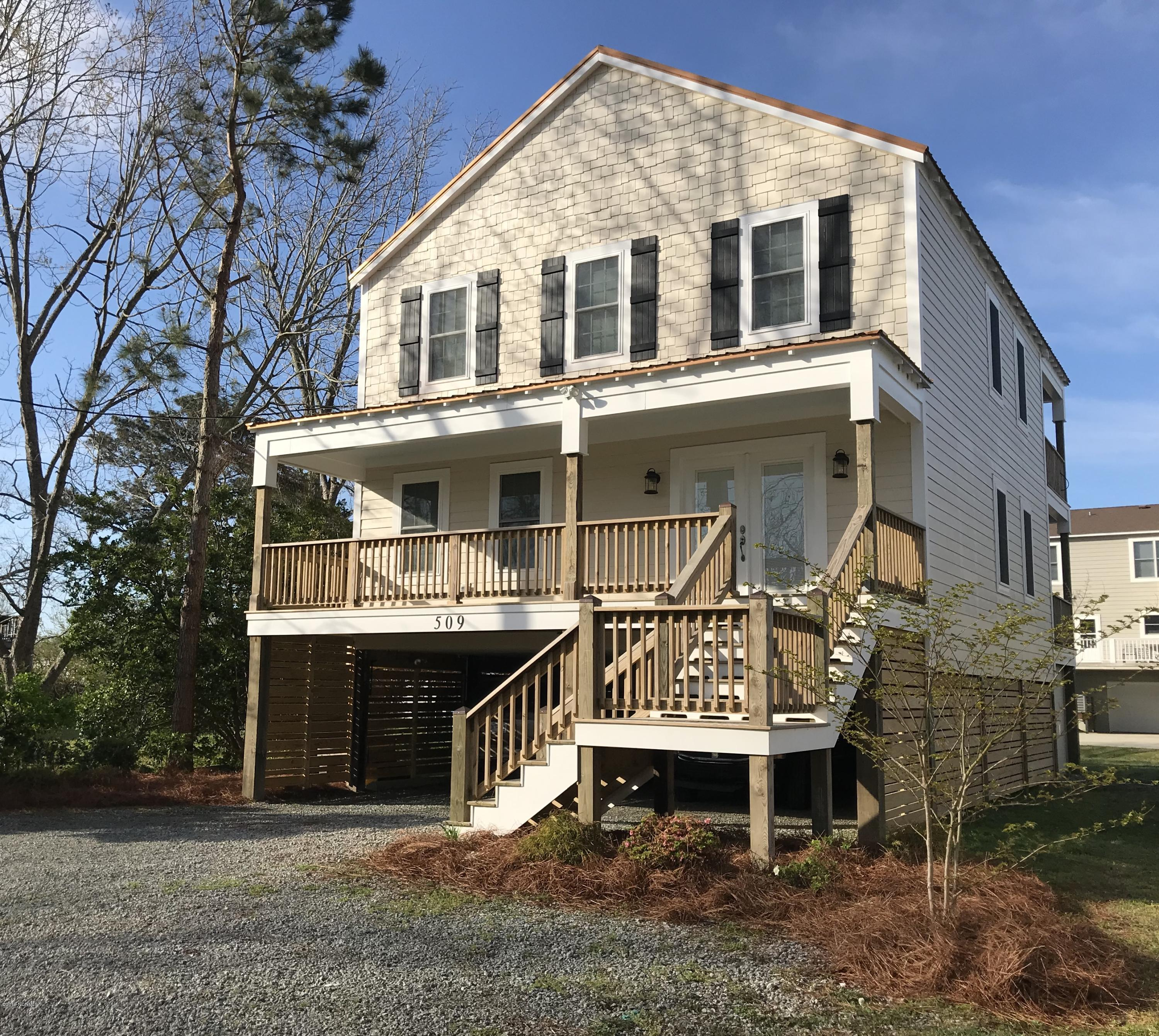 509 New Street, Oriental, North Carolina, 3 Bedrooms Bedrooms, 6 Rooms Rooms,2 BathroomsBathrooms,Single family residence,For sale,New,100144789