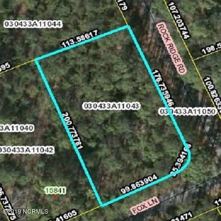 43 Rock Ridge Road, Wagram, North Carolina 28396, ,Residential land,For sale,Rock Ridge,100173215