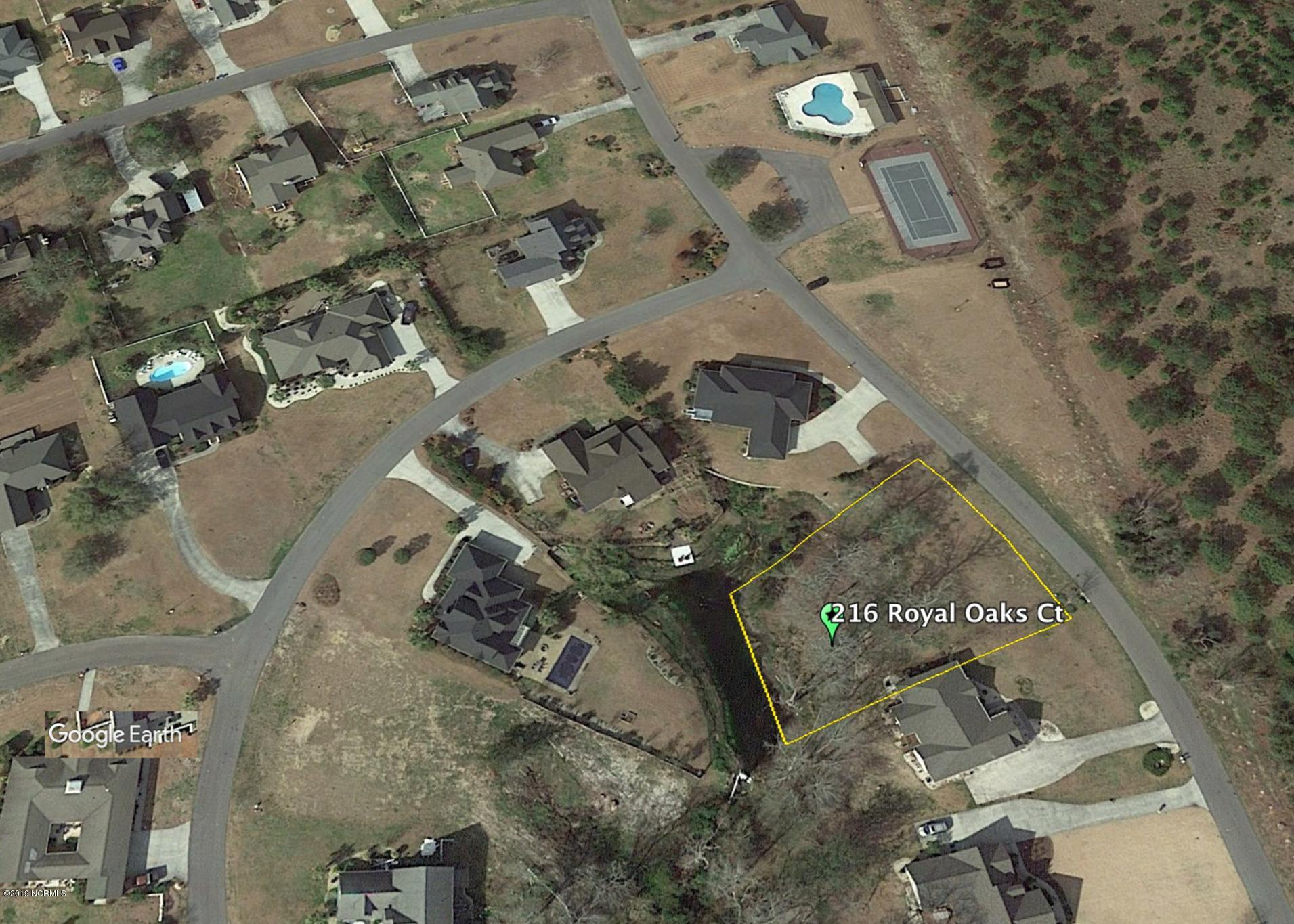 216 Royal Oaks Court, Cedar Point, North Carolina 28584, ,Residential land,For sale,Royal Oaks,100174400