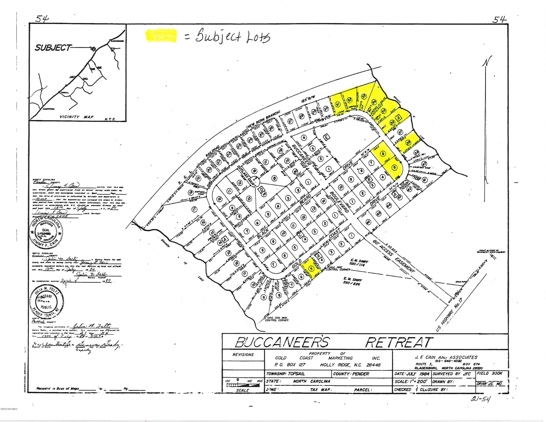 Lots Gold Coast Drive, Hampstead, North Carolina 28443, ,Undeveloped,For sale,Gold Coast,100174942