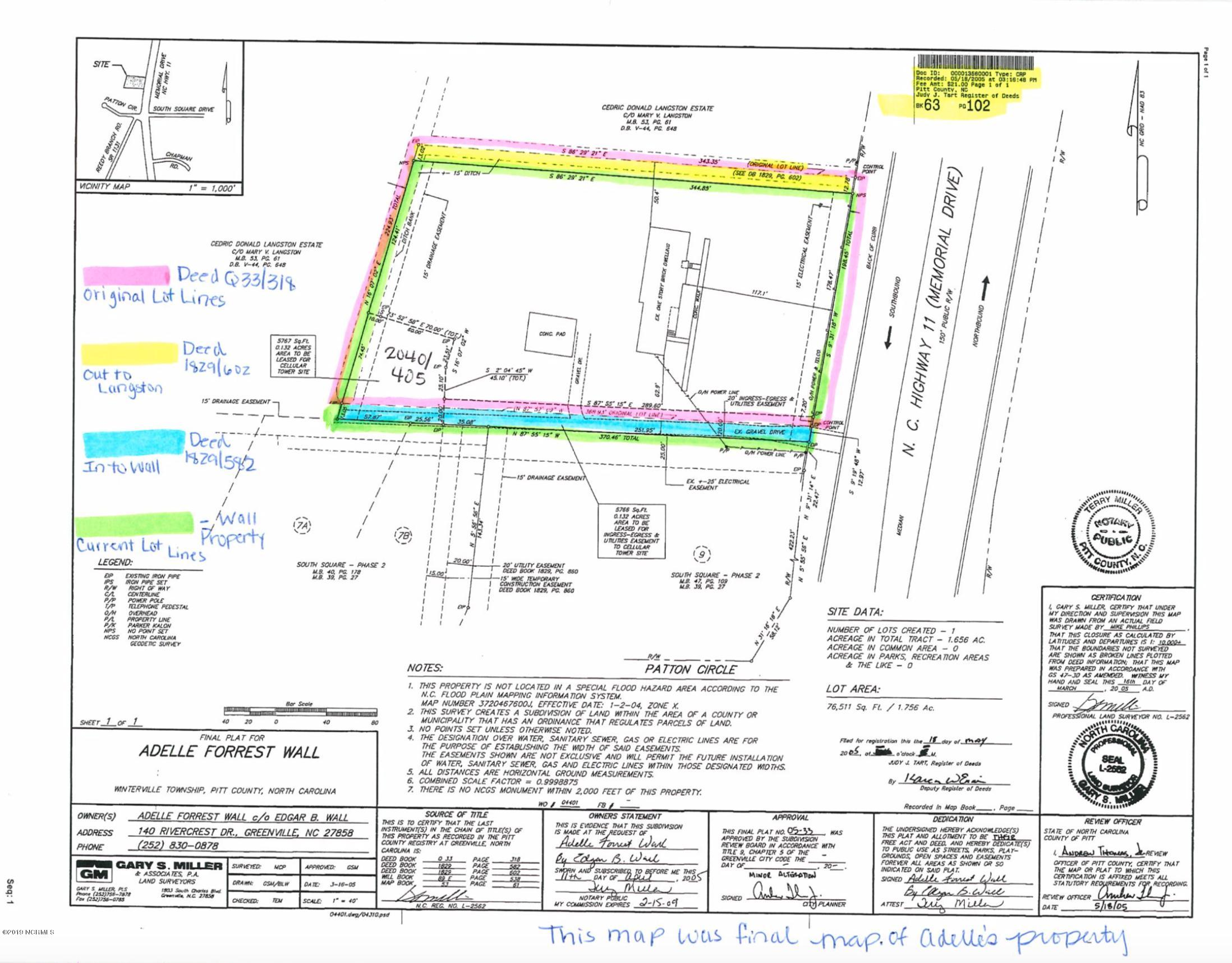 3830 Memorial Drive Drive, Winterville, North Carolina 28590, ,For sale,Memorial Drive,100178127