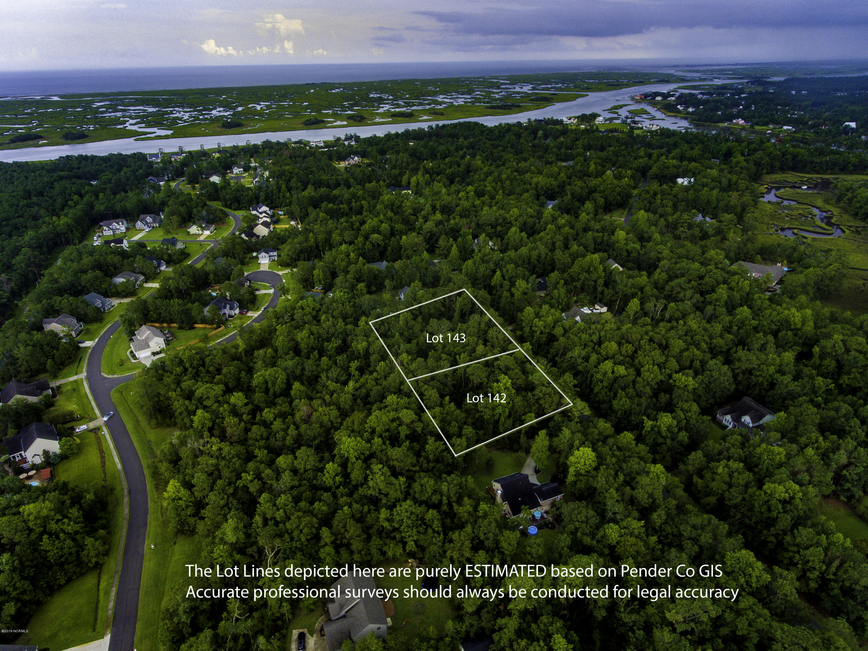 142/143 North Line Drive, Hampstead, North Carolina 28443, ,Residential land,For sale,North Line,100180680