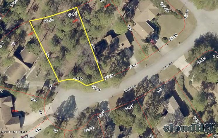 805 Clipper Court, New Bern, North Carolina 28560, ,Residential land,For sale,Clipper,100180934