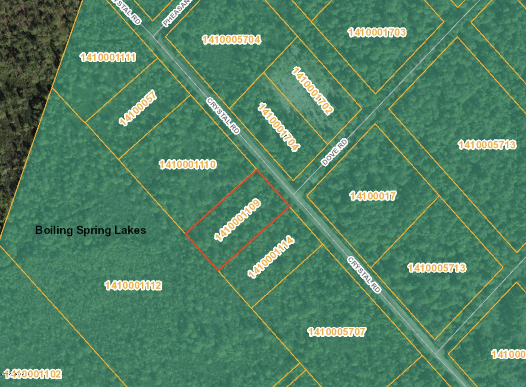 Lot 82 Crystal Road, Boiling Spring Lakes, North Carolina 28461, ,Wooded,For sale,Crystal,100181474
