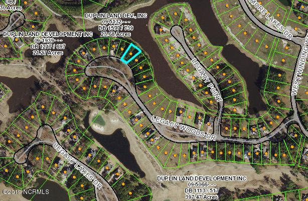 204 Legacy Woods Drive, Wallace, North Carolina 28466, ,Residential land,For sale,Legacy Woods,100181645