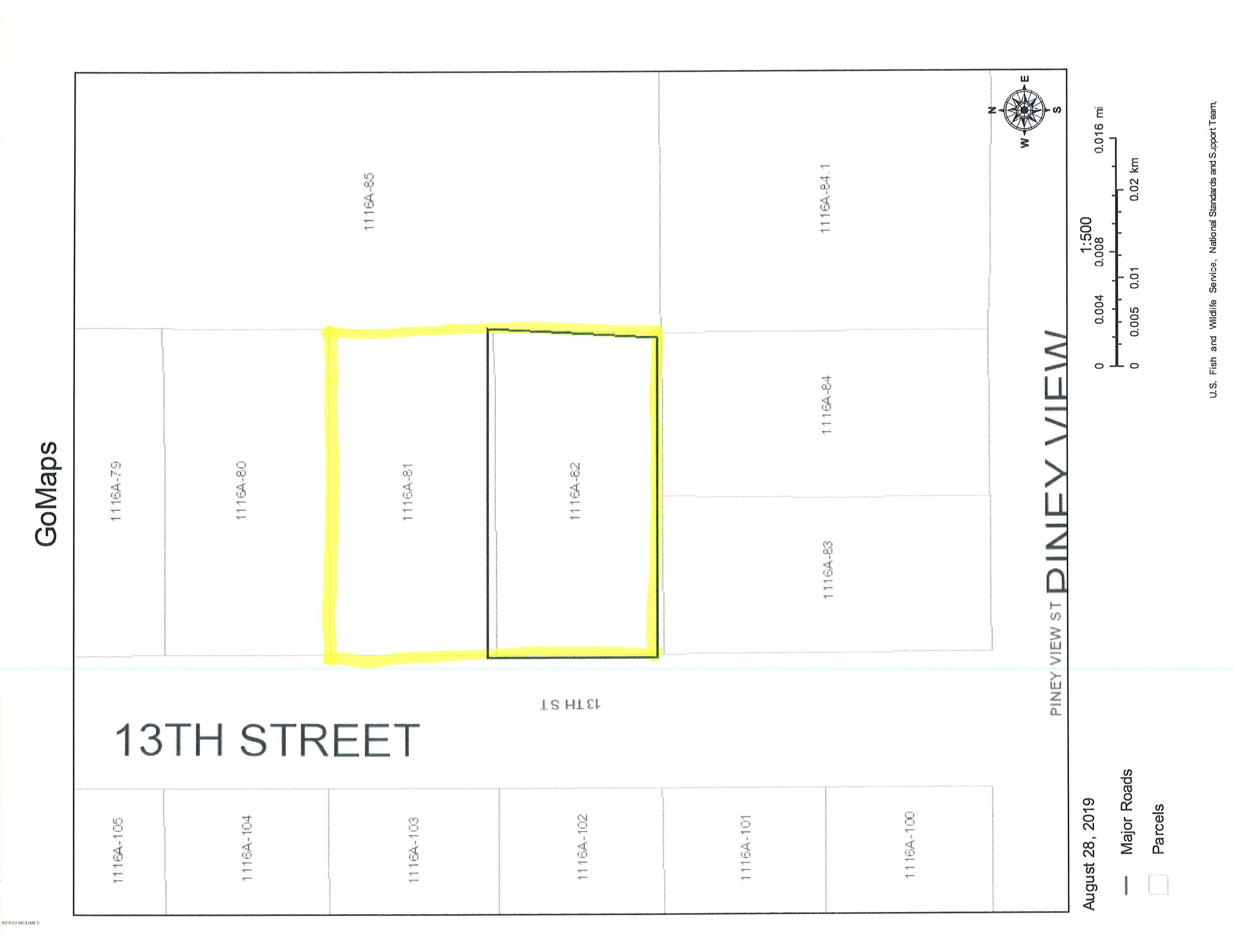 1306 13th Street, Midway Park, North Carolina 28544, ,Residential land,For sale,13th,100182310