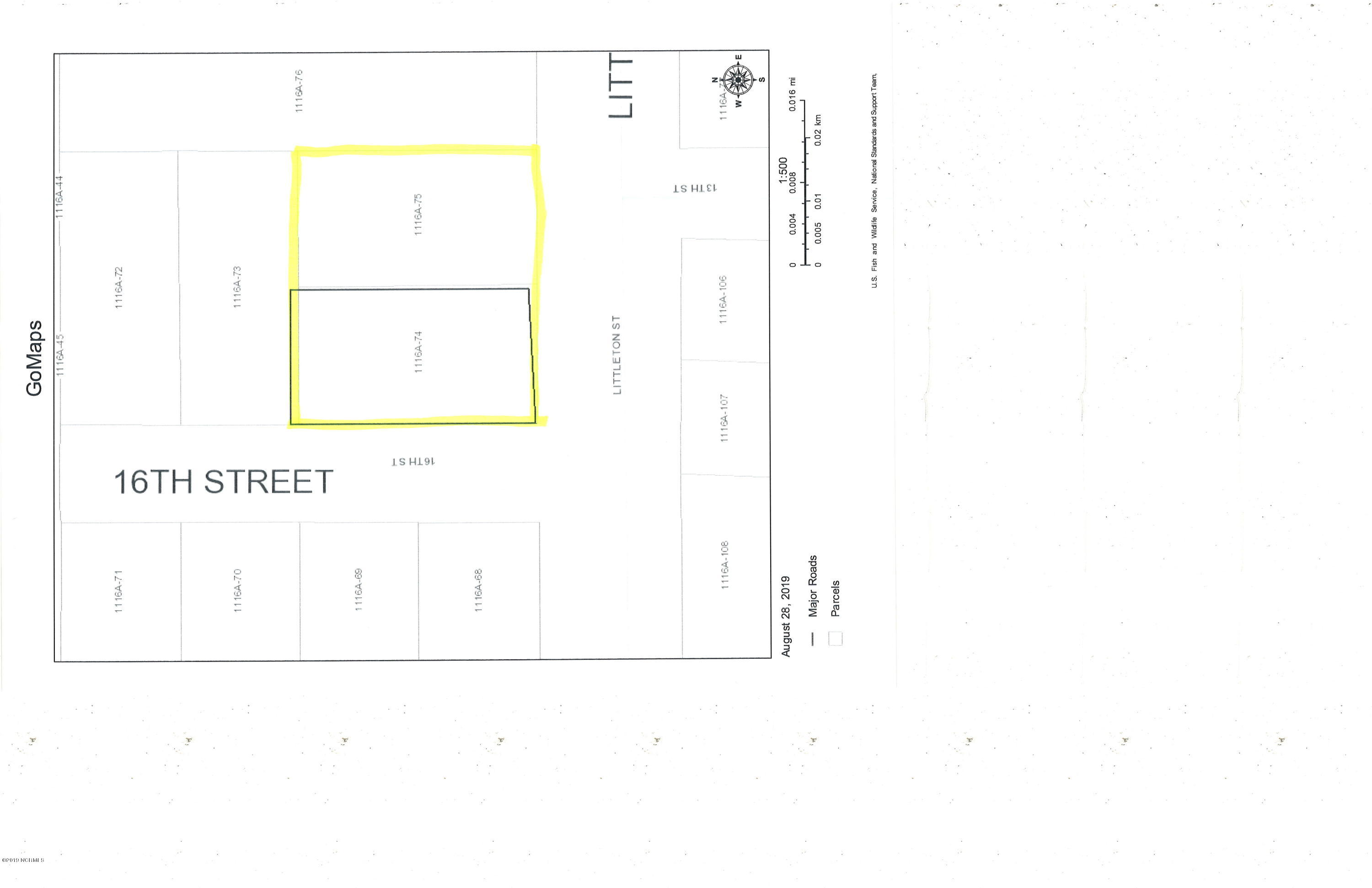 1600 16th Street, Midway Park, North Carolina 28544, ,Residential land,For sale,16th,100182399