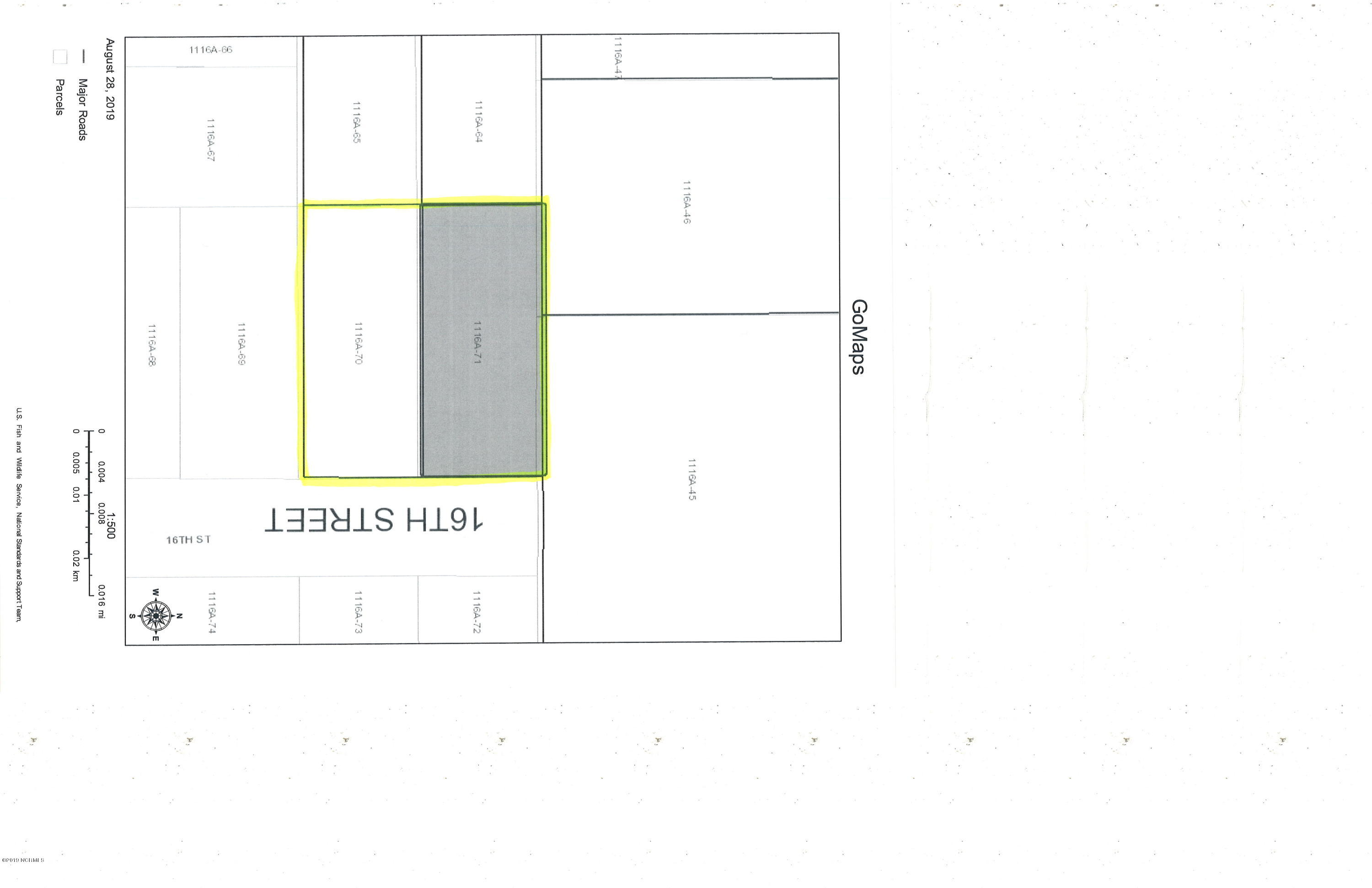 1605 16th Street, Midway Park, North Carolina 28544, ,Residential land,For sale,16th,100182403