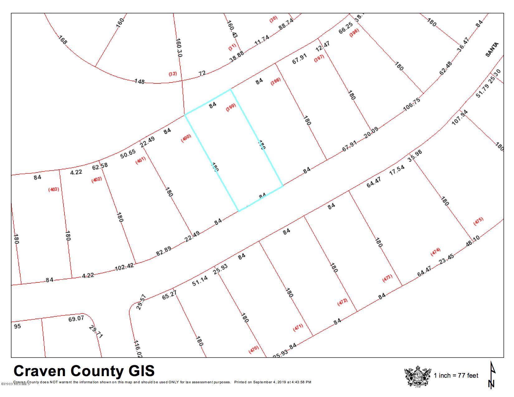 1227 Santa Lucia Drive, New Bern, North Carolina 28560, ,Residential land,For sale,Santa Lucia,100183197