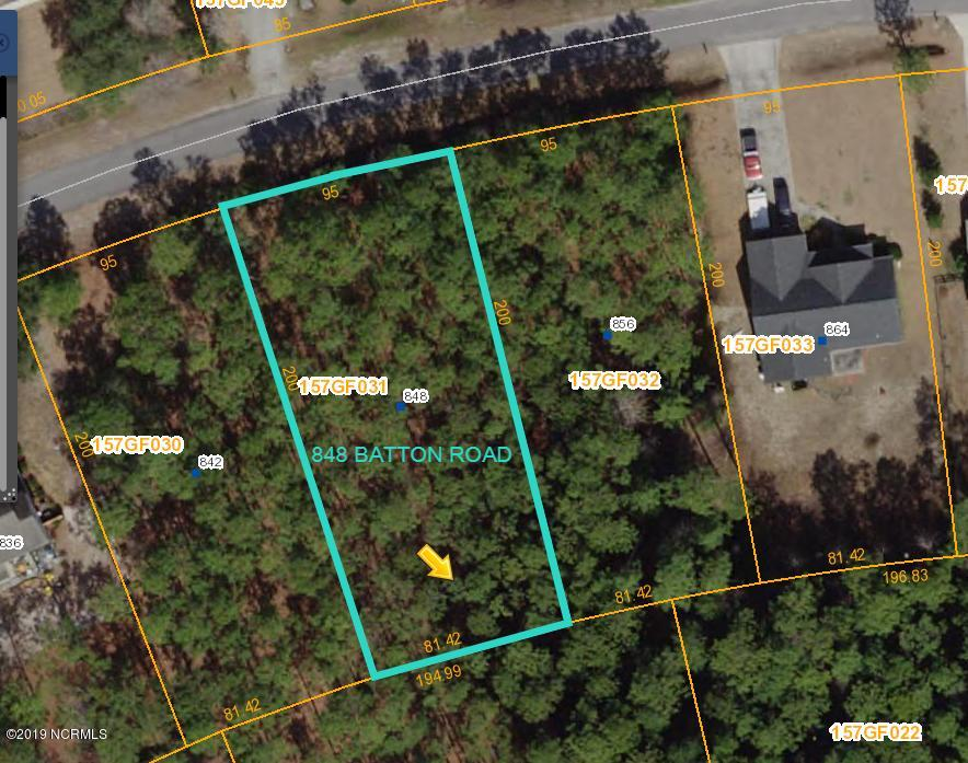 848 Batton Road, Boiling Spring Lakes, North Carolina 28461, ,Residential land,For sale,Batton,100185701