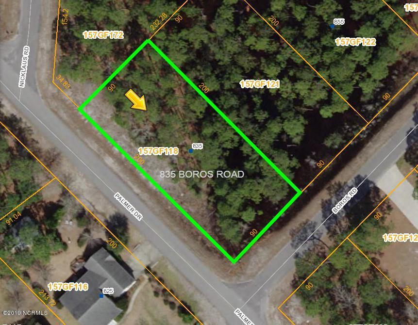 835 Boros Road, Boiling Spring Lakes, North Carolina 28461, ,Residential land,For sale,Boros,100185721