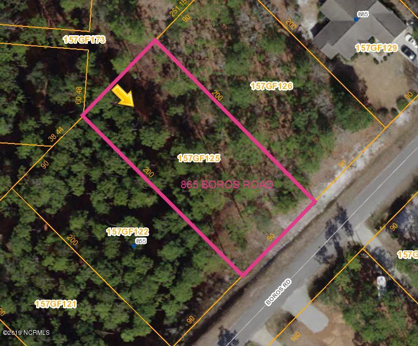 865 Boros Road, Boiling Spring Lakes, North Carolina 28461, ,Residential land,For sale,Boros,100187030