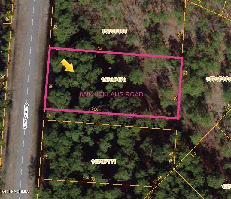 858 Nicklaus Road, Boiling Spring Lakes, North Carolina 28461, ,Residential land,For sale,Nicklaus,100187251