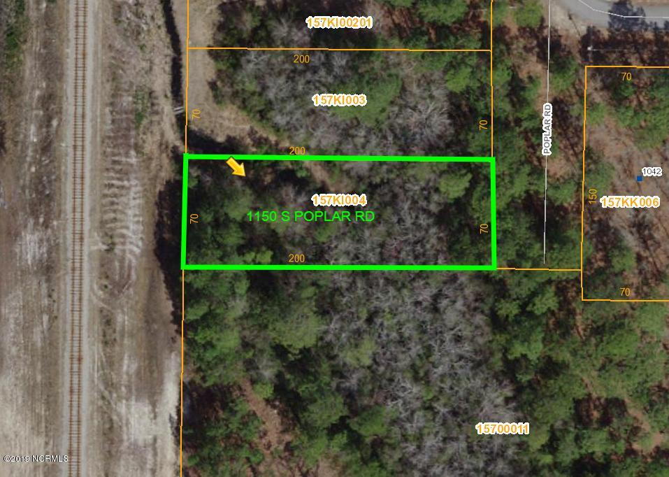 1150 Poplar Road, Boiling Spring Lakes, North Carolina 28461, ,Residential land,For sale,Poplar,100189086