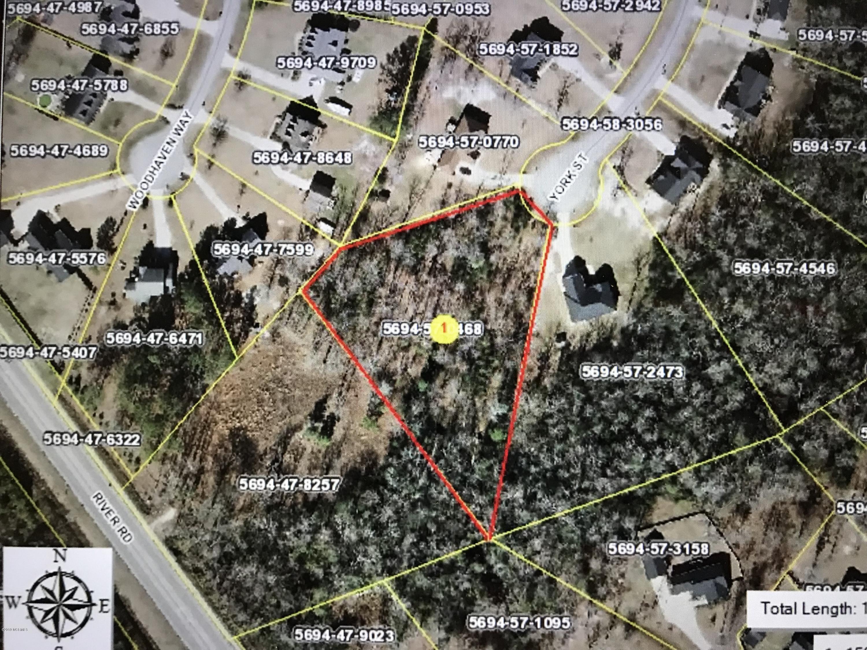 Lot 43 York Street, Washington, North Carolina 27889, ,Residential land,For sale,York,100185828