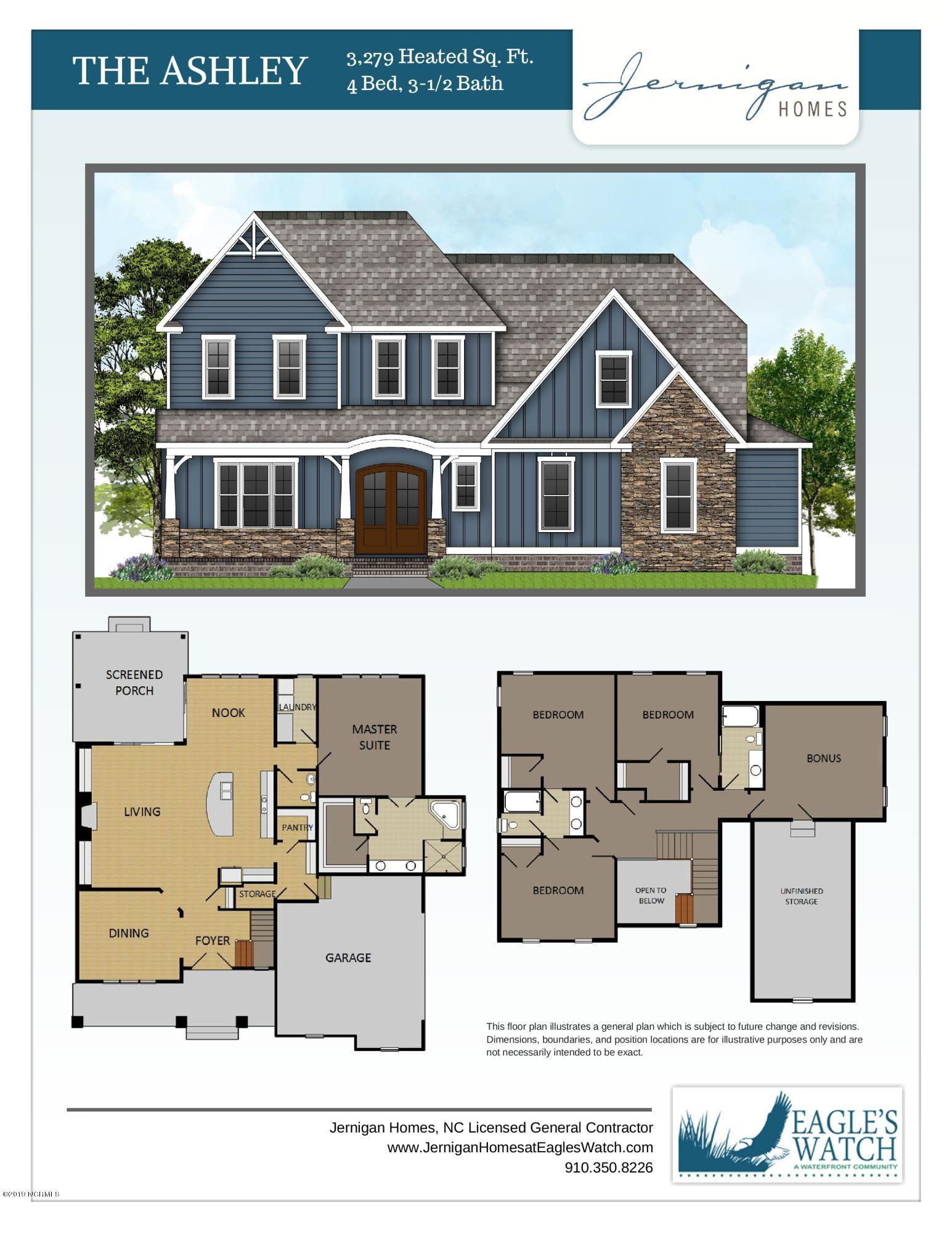 Lot 89 Hydrangea Lane, Hampstead, North Carolina 28443, ,Residential land,For sale,Hydrangea,100188691