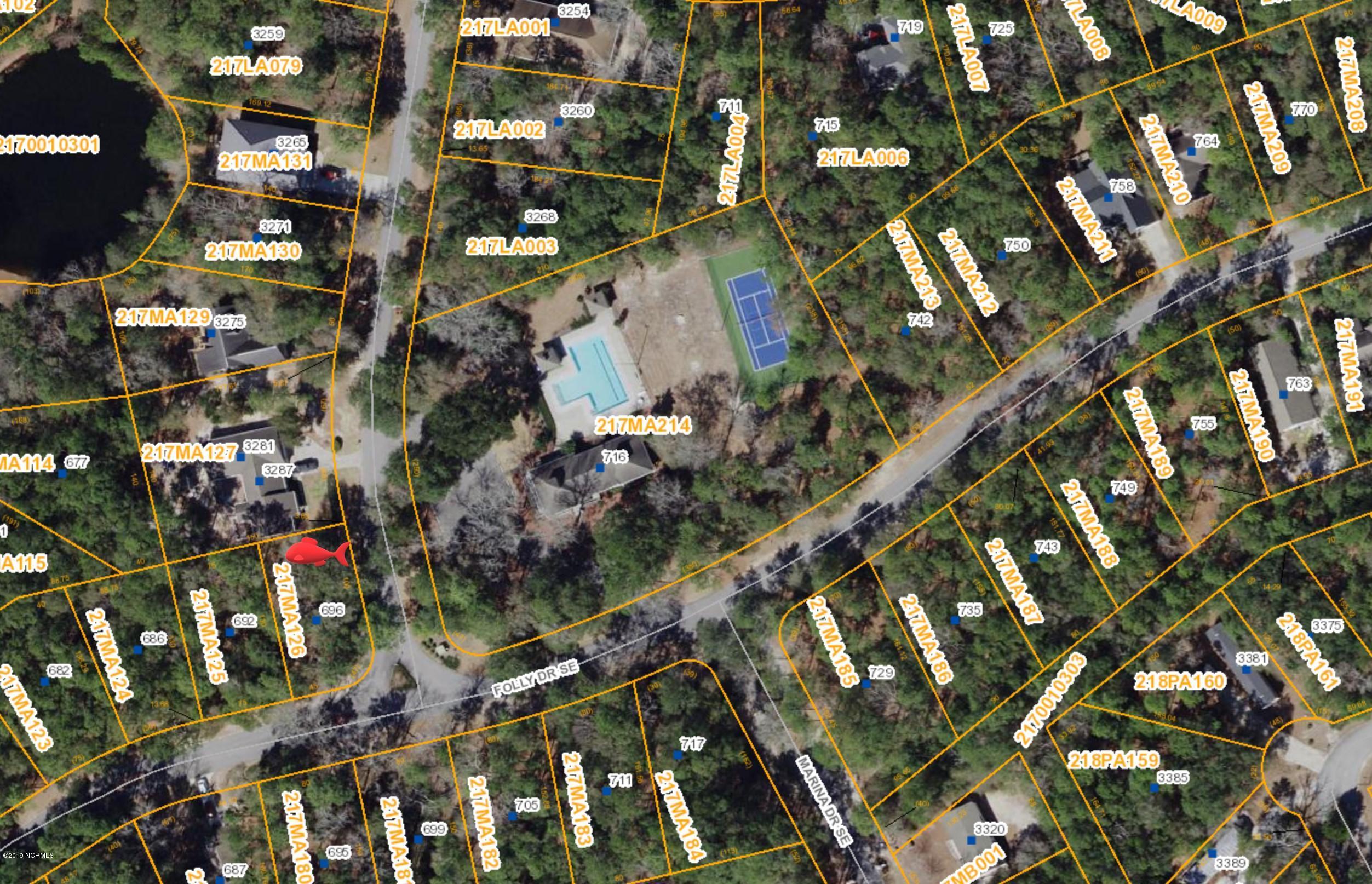 696 Folly Drive, Bolivia, North Carolina 28422, ,Residential land,For sale,Folly,100191198