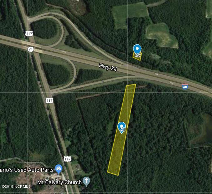 0 Nc-24, Warsaw, North Carolina 28398, ,Undeveloped,For sale,Nc-24,100195573