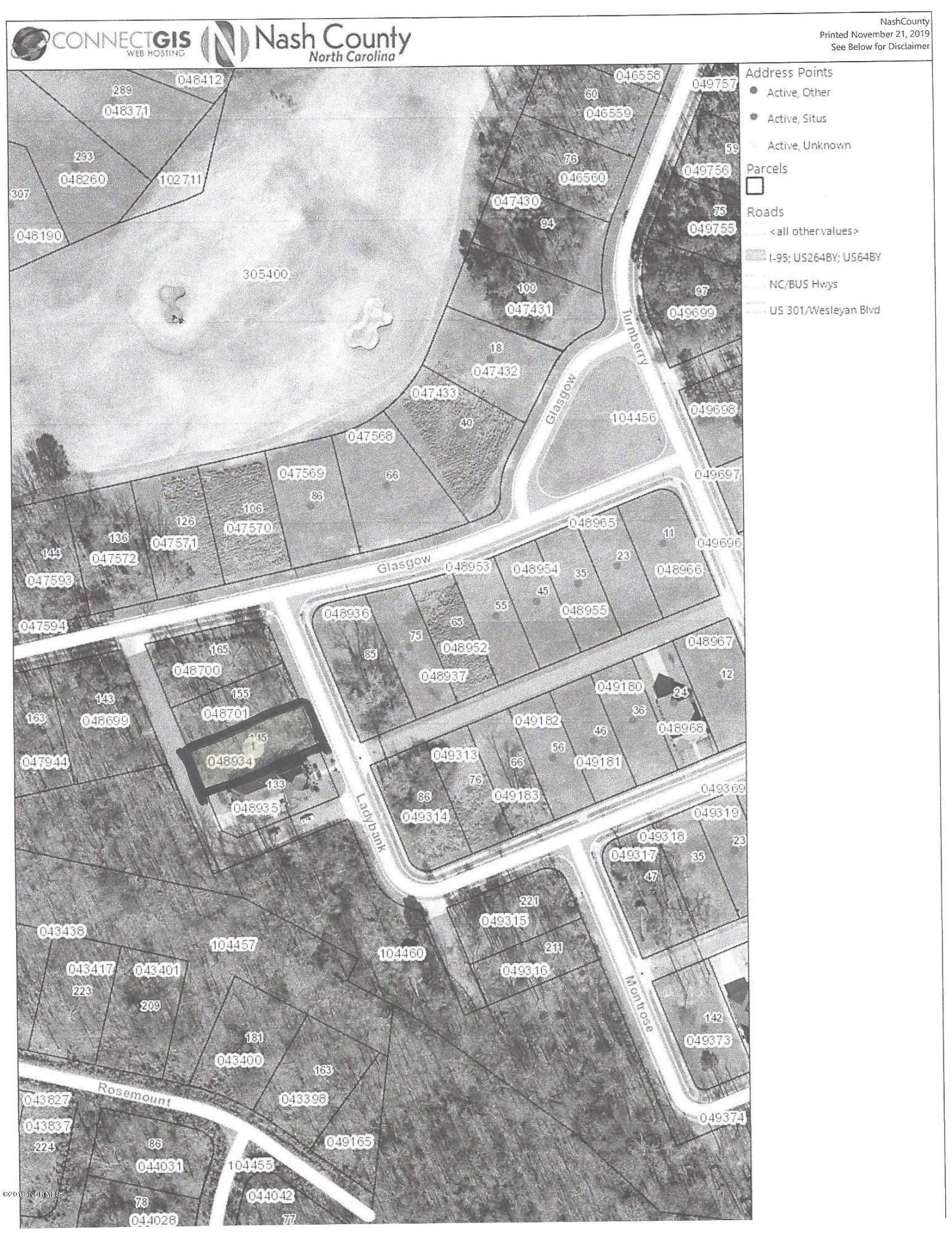 145 Ladybank, Rocky Mount, North Carolina 27804, ,Residential land,For sale,Ladybank,100193957