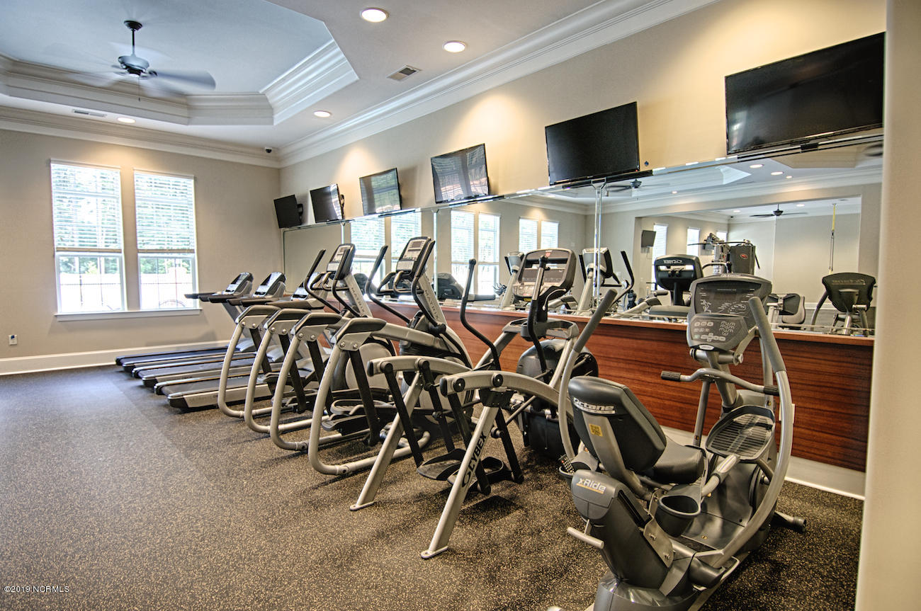 Club House Work Out Facility!