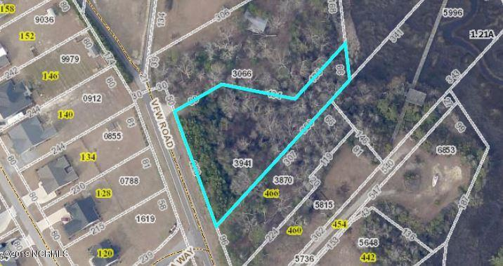 482 Vfw Lot 5 Road, Cedar Point, North Carolina 28584, ,Residential land,For sale,Vfw Lot 5,100121251
