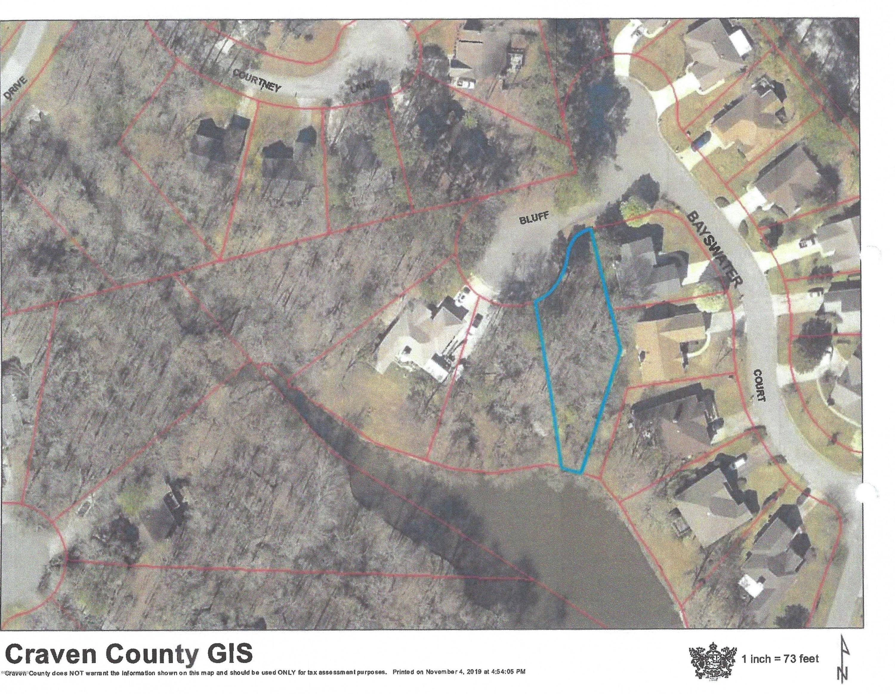 206 Bluff Court, New Bern, North Carolina 28562, ,Residential land,For sale,Bluff,100195268