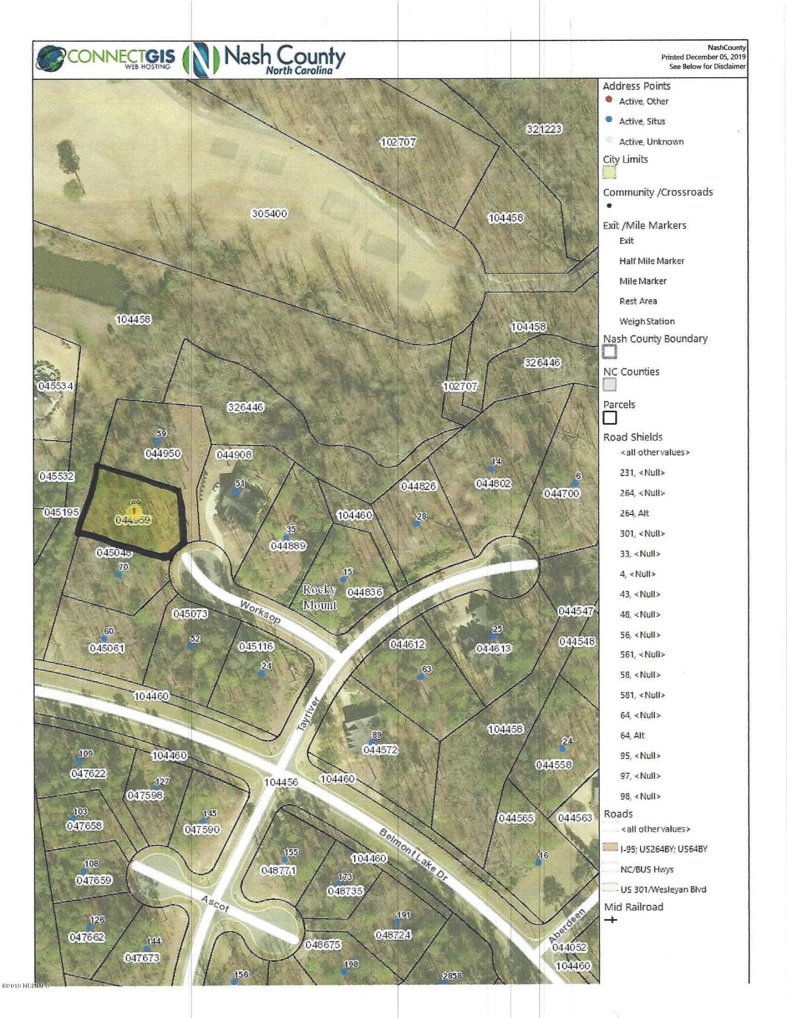 69 Worksop, Rocky Mount, North Carolina 27804, ,Residential land,For sale,Worksop,100196107