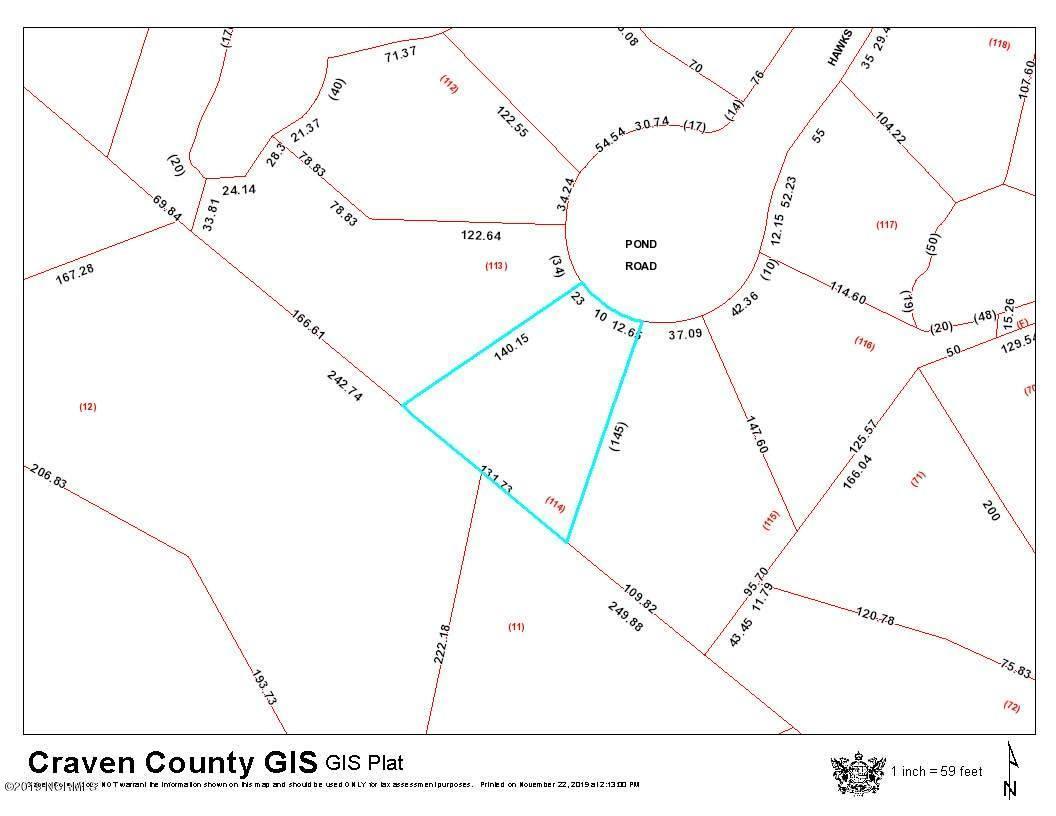 195 Hawks Pond Road, New Bern, North Carolina 28562, ,Residential land,For sale,Hawks Pond,100195698