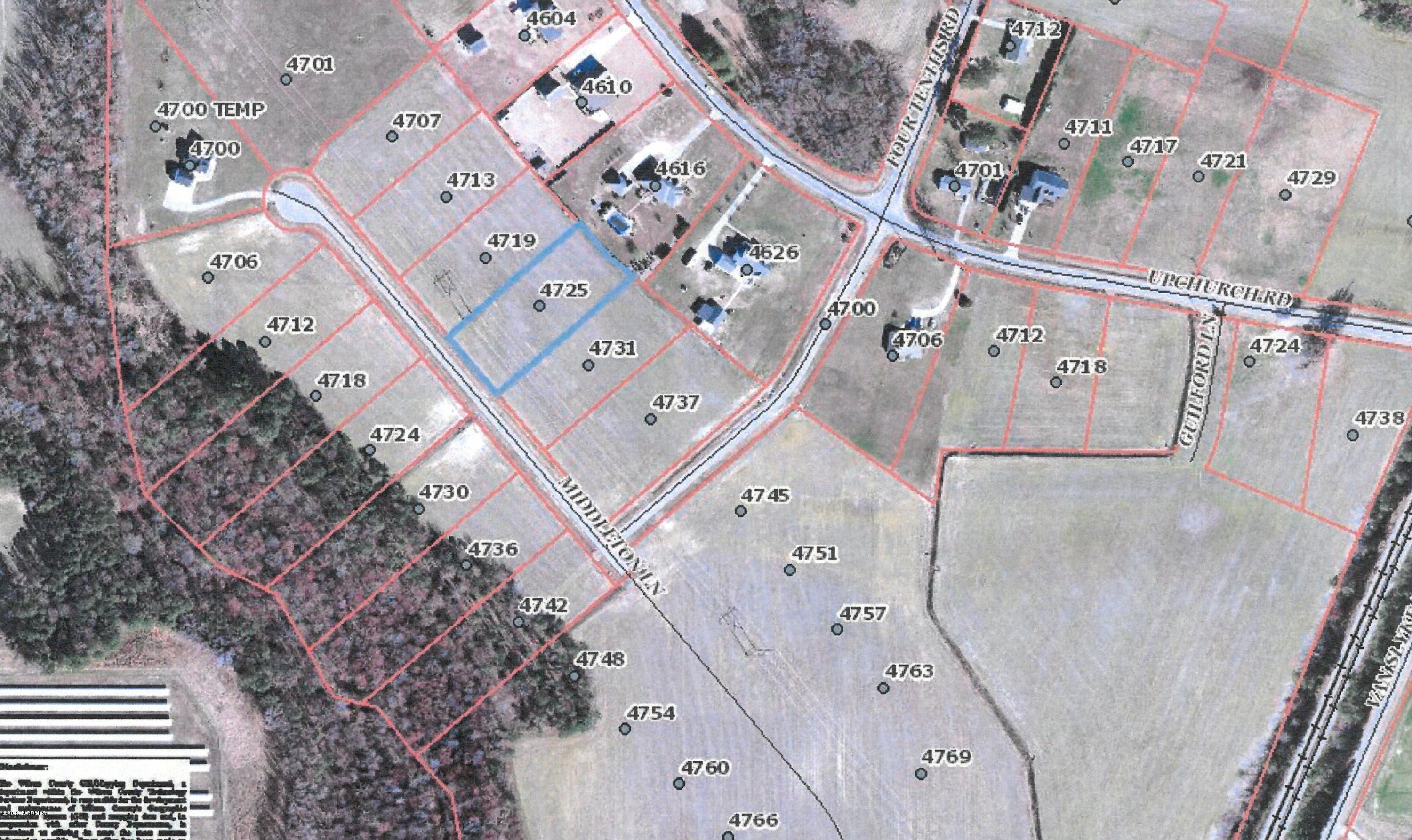 4718 Upchurch Road, Elm City, North Carolina 27822, ,Residential land,For sale,Upchurch,100196098