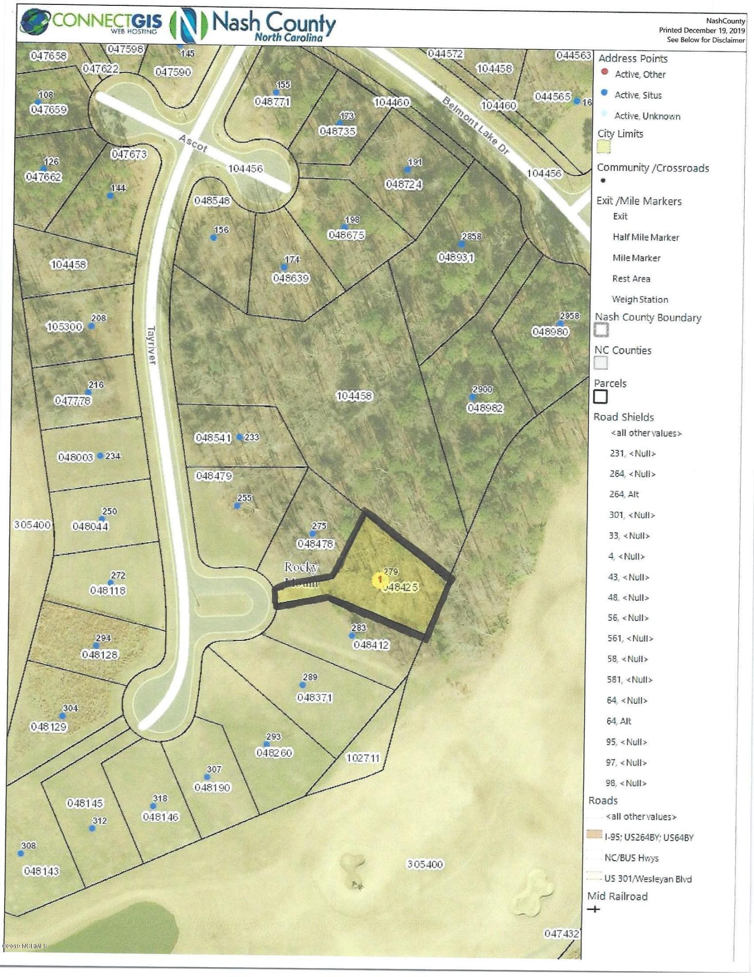 279 Tayriver, Rocky Mount, North Carolina 27804, ,Residential land,For sale,Tayriver,100197109