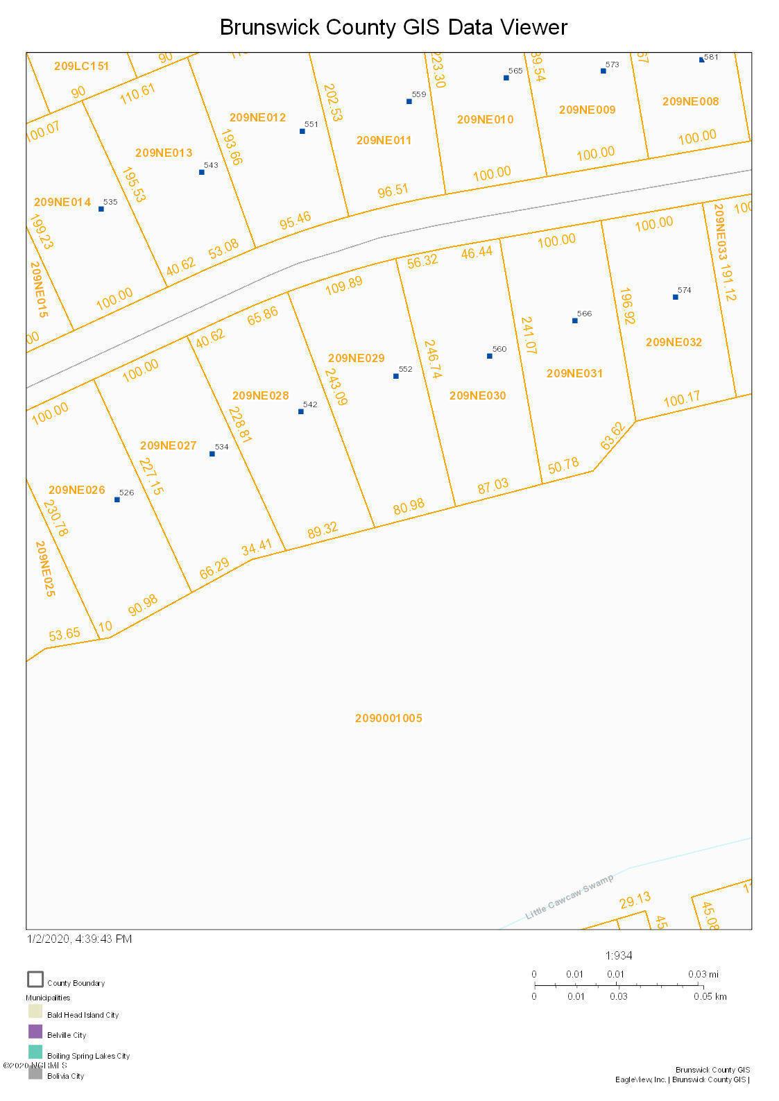 552 Crow Creek Drive, Calabash, North Carolina 28467, ,Residential land,For sale,Crow Creek,100197902