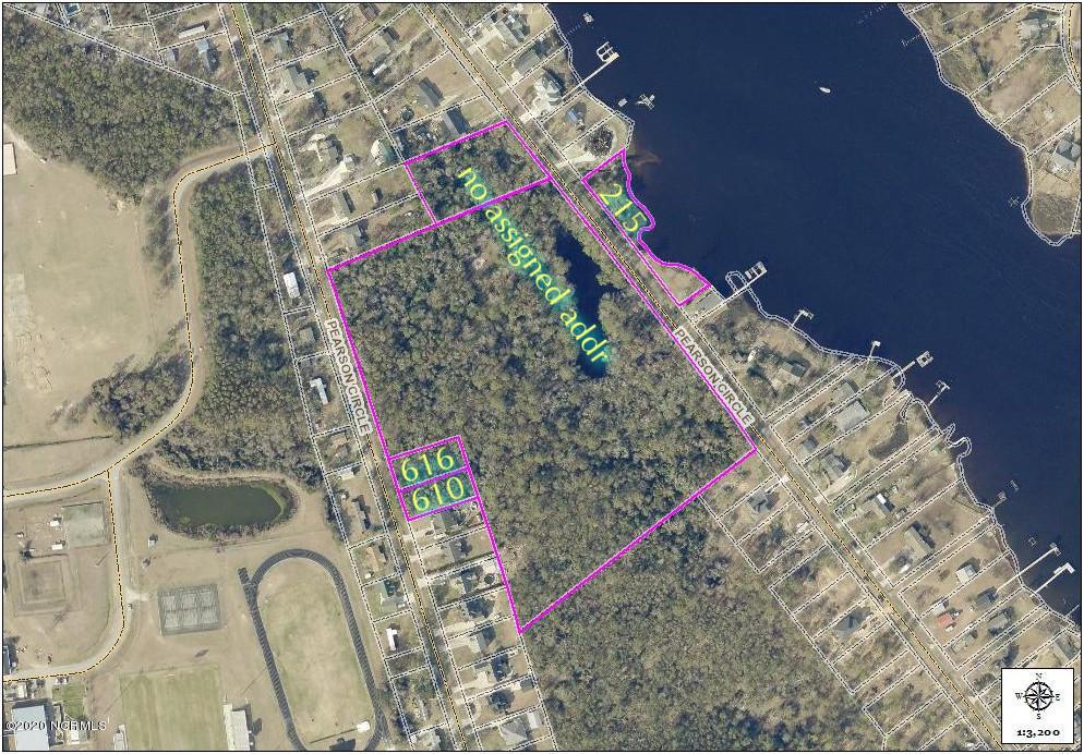 215 Pearson Circle, Newport, North Carolina 28570, ,Residential land,For sale,Pearson,100199834