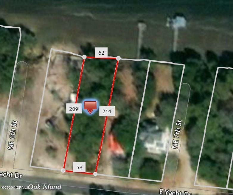 604 Yacht Drive, Oak Island, North Carolina 28465, ,Residential land,For sale,Yacht,100200709