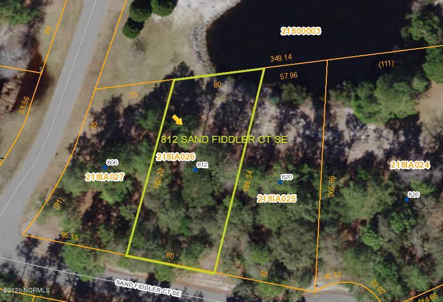 812 Sand Fiddler Court, Bolivia, North Carolina 28422, ,Residential land,For sale,Sand Fiddler,100201950