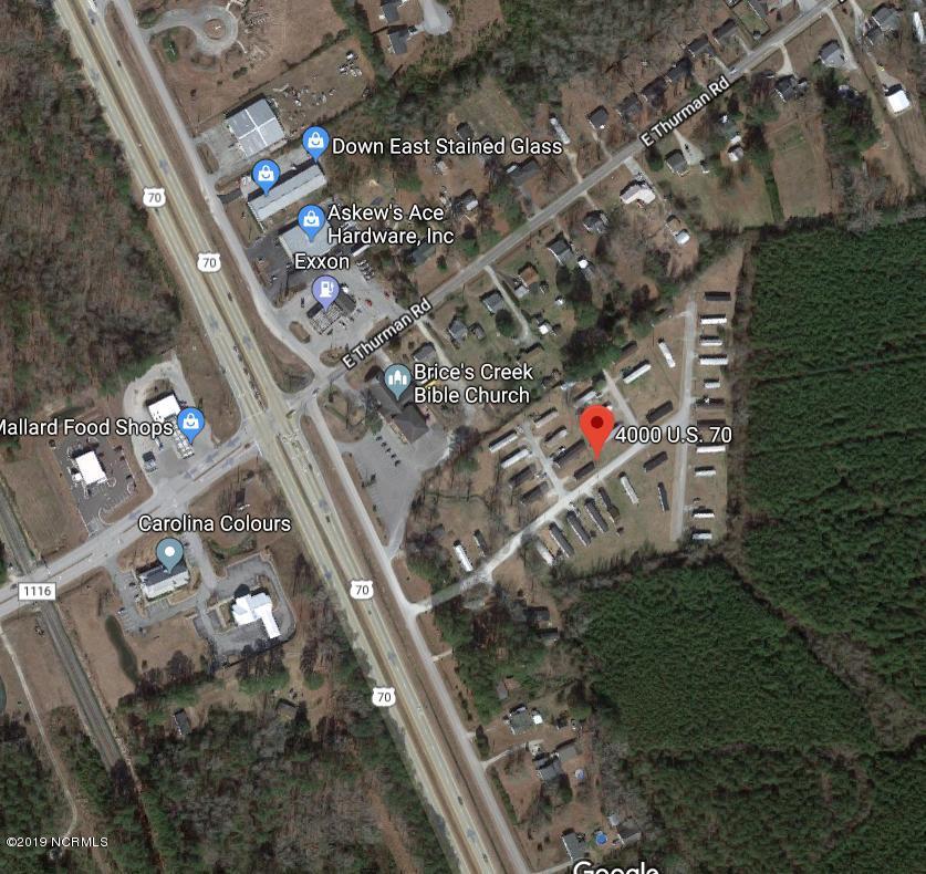 4000 Us Highway 70, New Bern, North Carolina 28560, ,Mobile home park,For sale,Us Highway 70,100202558