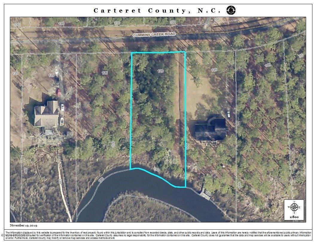 143 Cummins Creek Road, Beaufort, North Carolina 28516, ,Residential land,For sale,Cummins Creek,100204801