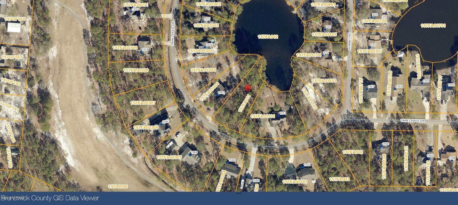 1145 Twin Lakes Drive, Boiling Spring Lakes, North Carolina 28461, ,Residential land,For sale,Twin Lakes,100209920