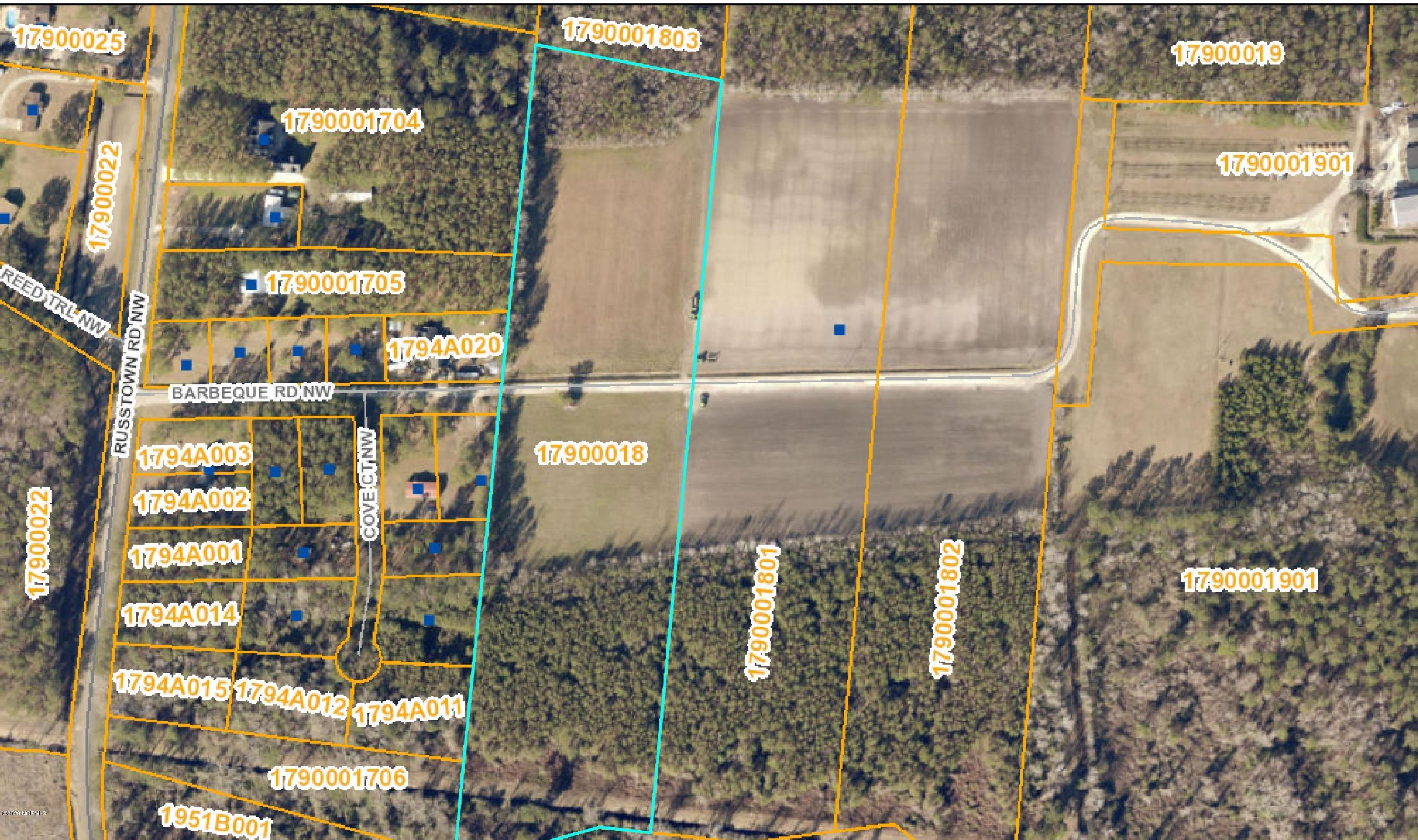 6790 Barbeque Road, Ocean Isle Beach, North Carolina 28469, ,Residential land,For sale,Barbeque,100212456