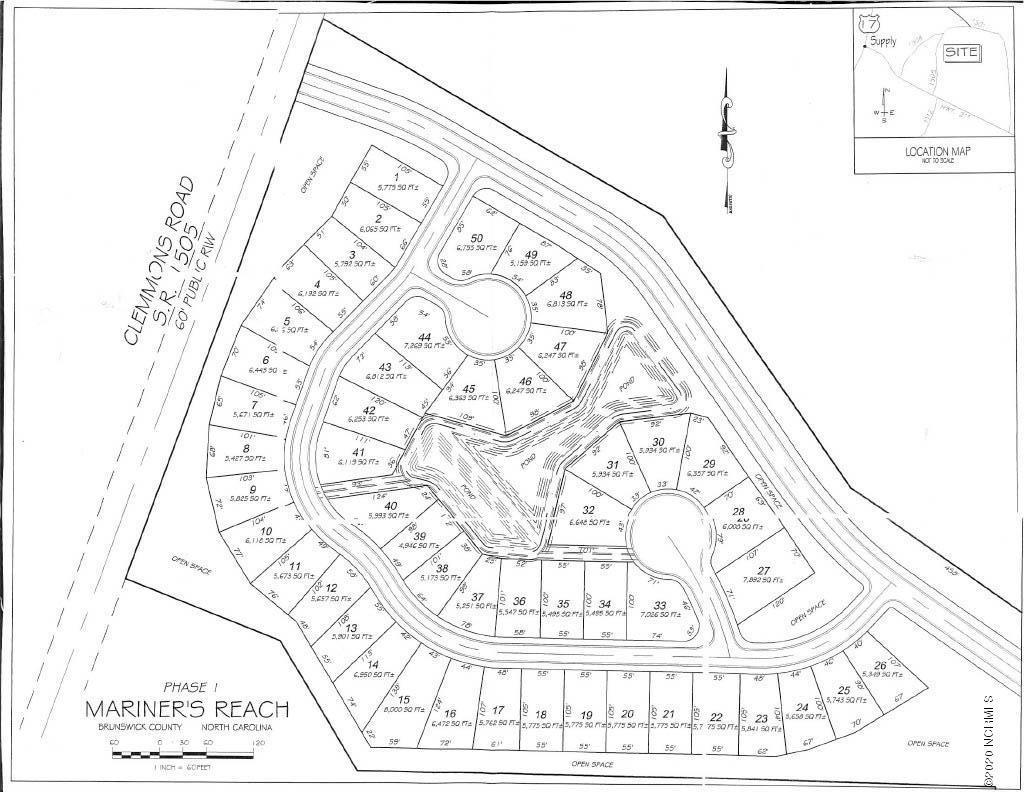 Lot 3 Clemmons Road, Bolivia, North Carolina 28422, ,Residential land,For sale,Clemmons,100212685