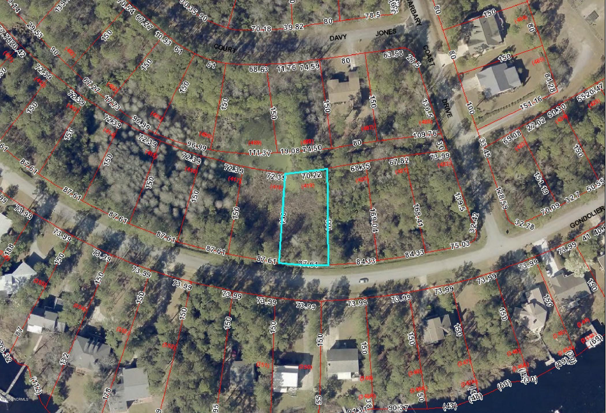 5623 Gondolier Drive, New Bern, North Carolina 28560, ,Residential land,For sale,Gondolier,100212828