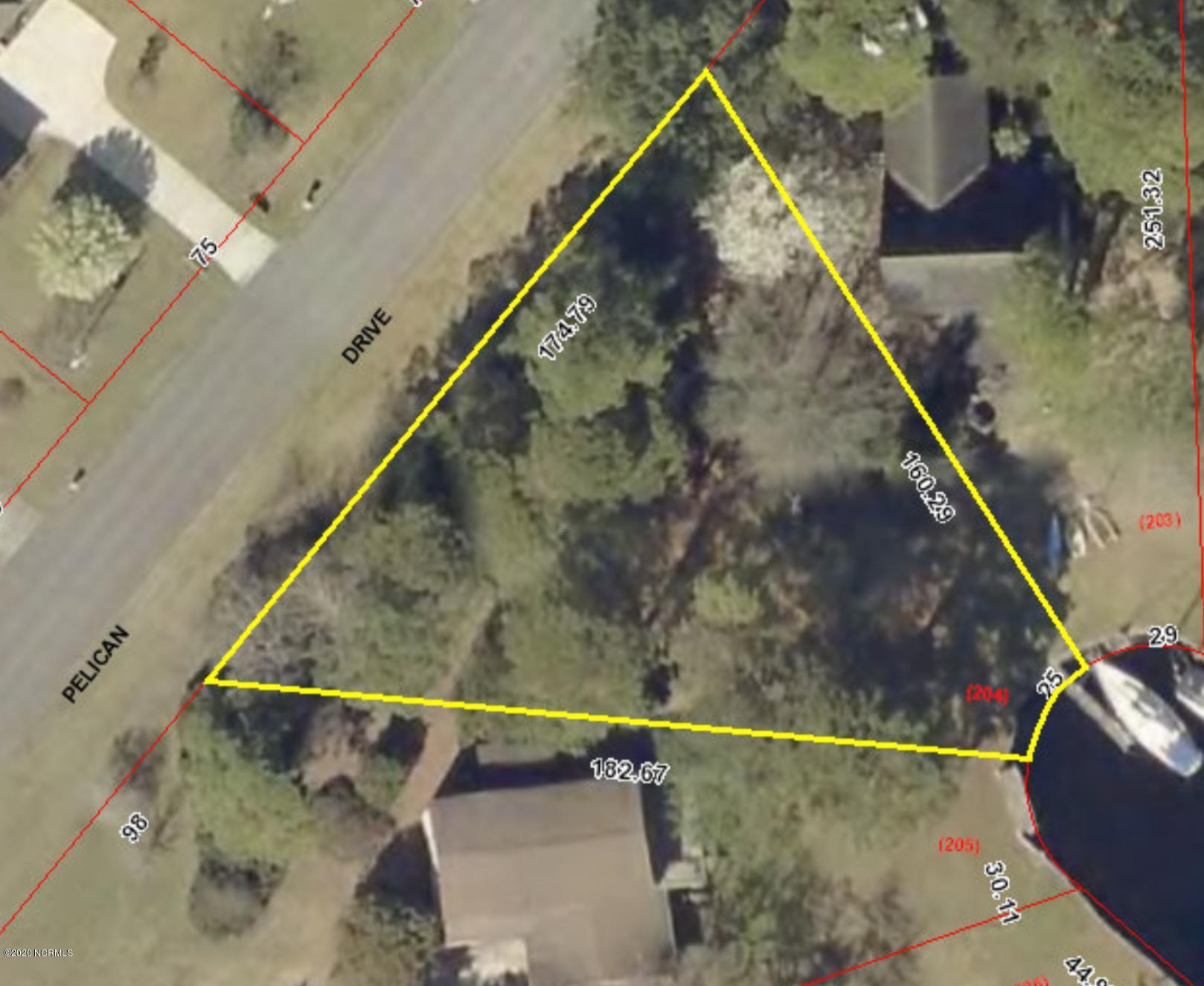 1206 Pelican Drive, New Bern, North Carolina 28560, ,Residential land,For sale,Pelican,100213503