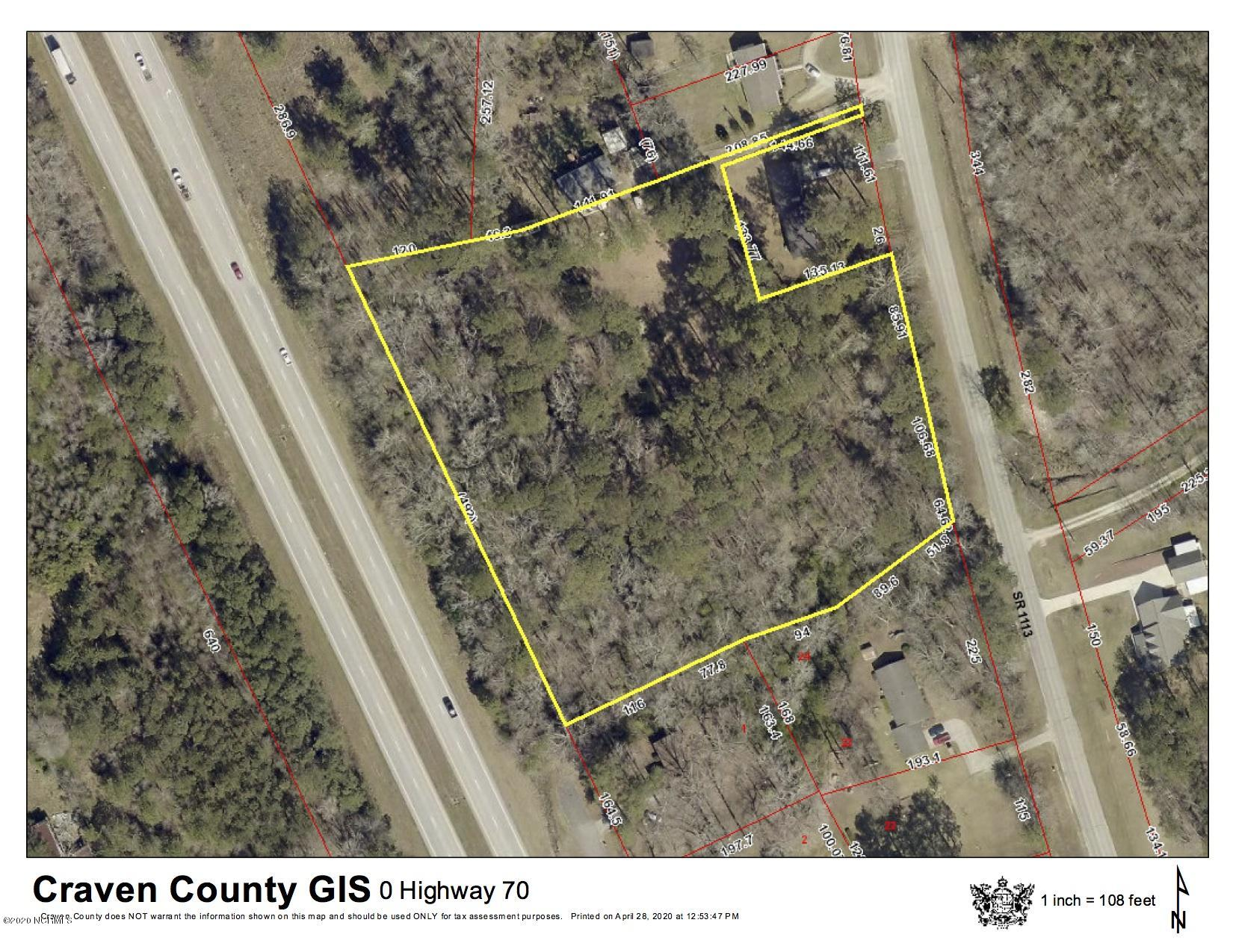0 Old Cherry Point Road, New Bern, North Carolina 28560, ,Undeveloped,For sale,Old Cherry Point,100215546