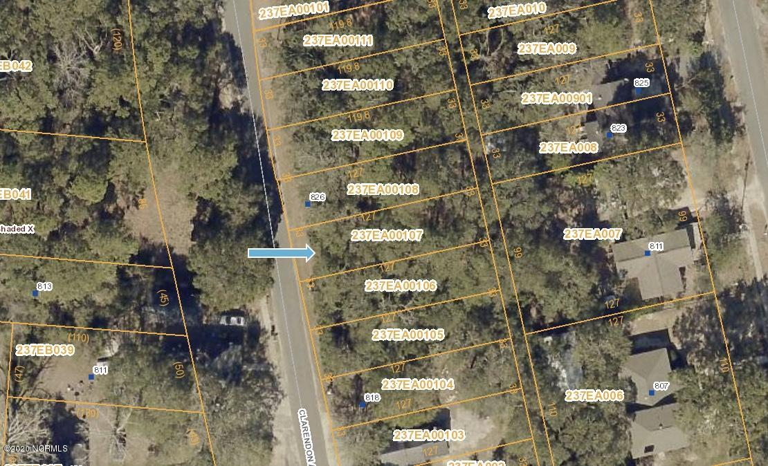 824 Clarendon Avenue, Southport, North Carolina 28461, ,Residential land,For sale,Clarendon,100222303