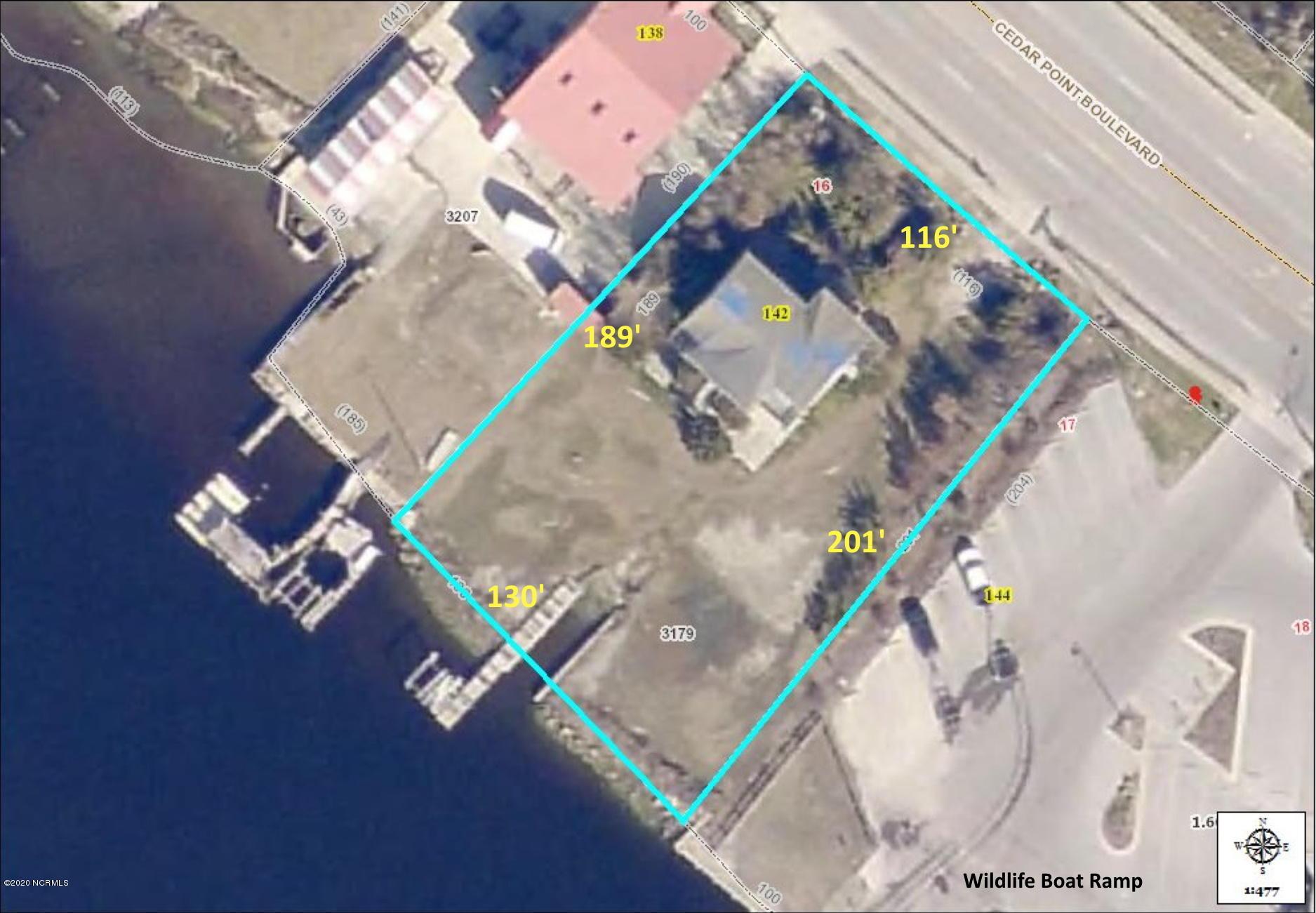 142 Cedar Point Boulevard, Cedar Point, North Carolina 28584, ,Residential land,For sale,Cedar Point,100223079