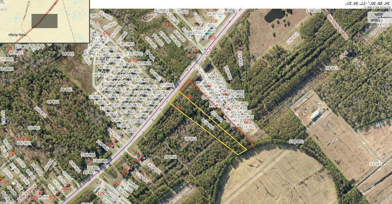 601 Us Hwy 17, Holly Ridge, North Carolina 28445, ,Commercial/industrial,For sale,Us Hwy 17,100223339