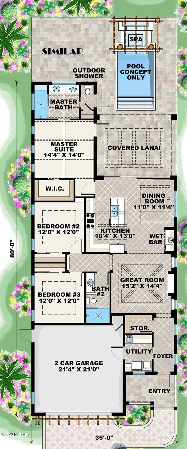 2221 Caracara Drive, New Bern, North Carolina 28560, 3 Bedrooms Bedrooms, 7 Rooms Rooms,2 BathroomsBathrooms,Single family residence,For sale,Caracara,100224288
