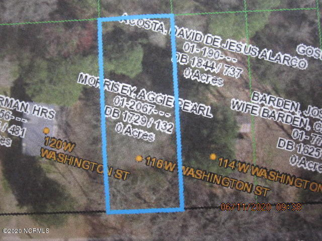 116 Washington Street, Warsaw, North Carolina 28398, ,Residential land,For sale,Washington,100224559
