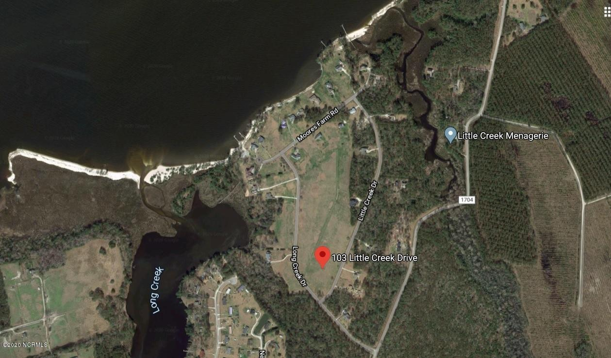 103 Little Creek Drive, Havelock, North Carolina 28532, ,Residential land,For sale,Little Creek,100226534